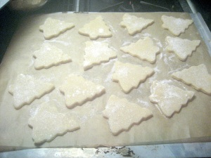 Cookies ready to be Baked