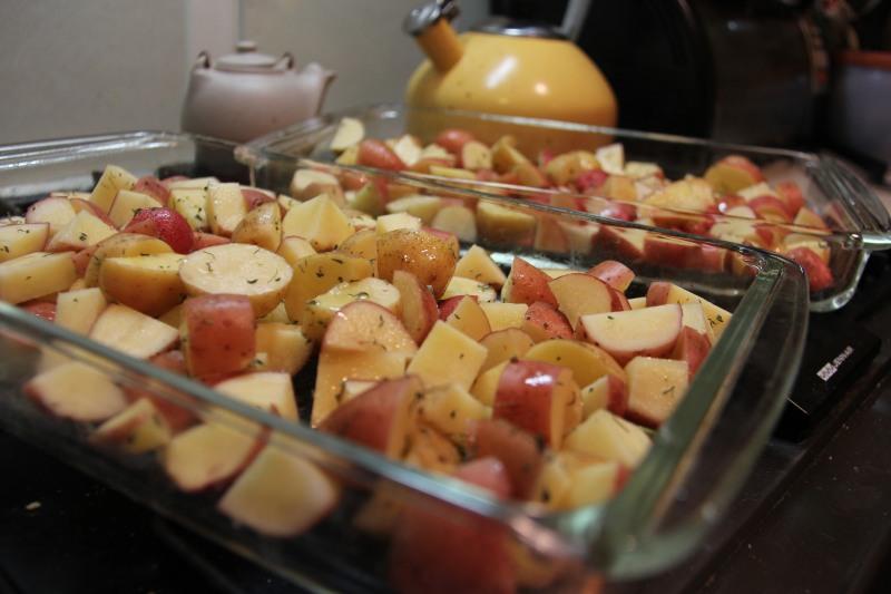 Ann Arbor Food Pan Roasted Potatoes